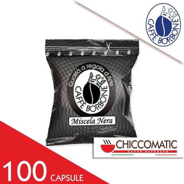 Miscela Nera Borbone Compatibile Espresso Point 100 Capsule