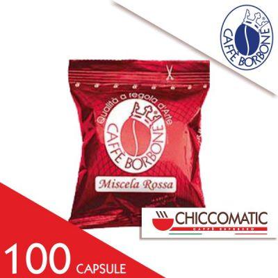 Miscela Rossa Borbone Compatibile Espresso Point 100 Cialde