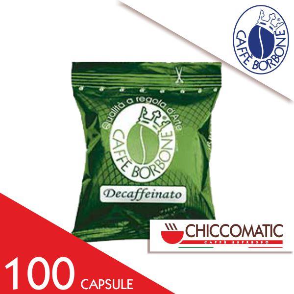Miscela Verde Dek Borbone Compatibile Espresso Point 100 Capsule