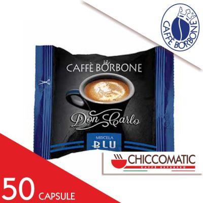 Capsula Caffè Borbone Compatibile Lavazza a Modo Mio Miscela Blu