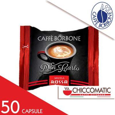 Capsule Caffè Borbone Compatibile Lavazza a Modo Mio Miscela Rossa
