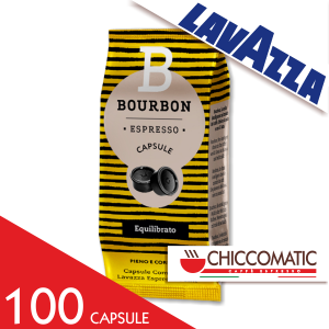 Vendita Lavazza Espresso Point Bour Bon Equilibrato 100 Capsule - Chiccomatic Shop Online