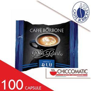 Capsule Caffè Borbone Compatibile Lavazza a Modo Mio Miscela Blu