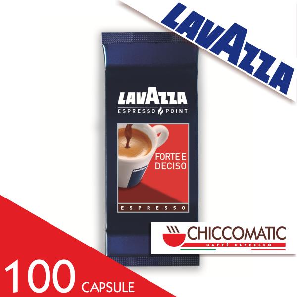 Vendita Lavazza Espresso Point Forte e Deciso 100 Capsule - Chiccomatic Shop Online