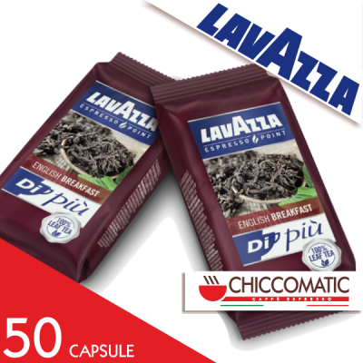 Lavazza Espresso Point The Nero 50 Capsule - Chiccomatic Shop Online