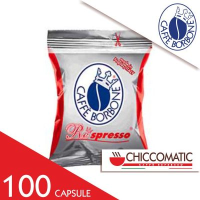 Borbone Compatibile Respresso Miscela Rossa 100 Capsule