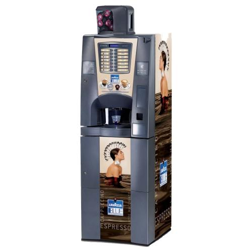 Chiccomatic macchina comodato d'uso per aziende in Umbria brio blue Chiccomatic