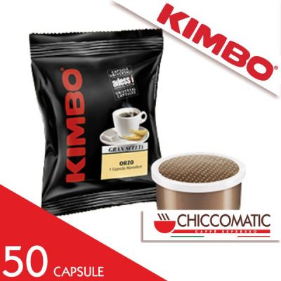 Caffè Kimbo Espresso Point Orzo - Shop Online Chiccomatic