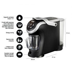 Lavazza firma milk dettaglio - macchine per caffe in comodato d'uso in Umbria