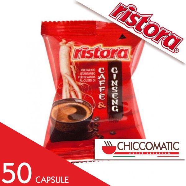Ristora Compatibile Espresso Point Caffè Aromatizzato Ginseng - Chiccomatic