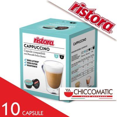 Ristora Compatibile Dolce Gusto Cappuccino Decaffeinato - 10 Capsule