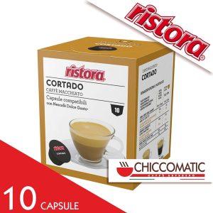 Ristora Compatibile Dolce Gusto Cortado caffè macchiato