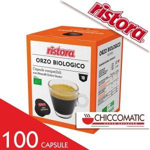 Ristora Compatibile Dolce Gusto Orzo Biologico - 100 Cialde