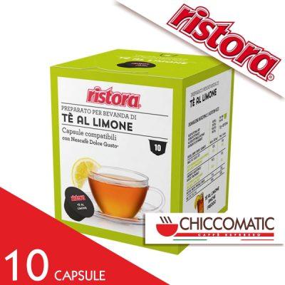 Ristora Compatibile Dolce Gusto Tè al Limone - 10 Cialde