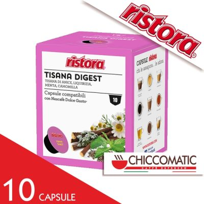 Ristora Compatibile Dolce Gusto Tisana Digest - 10 Cialde