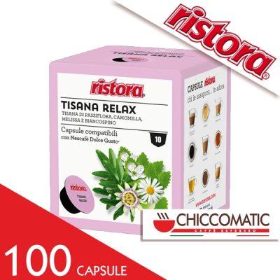 Ristora Compatibile Dolce Gusto Tisana Relax - 100 Cialde