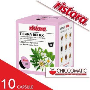 Ristora Compatibile Dolce Gusto Tisana Relax - 10 Cialde