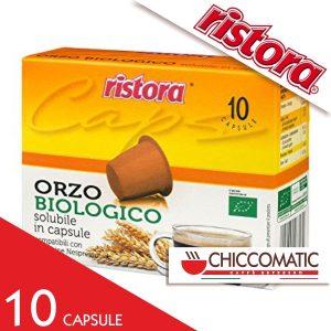 Ristora Compatibile Nespresso Caffè Orzo Biologico - 10 Cialde