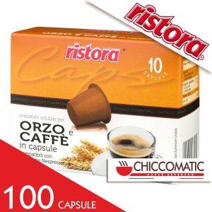 Ristora Compatibile Nespresso Caffè Orzo- 100 Cialde