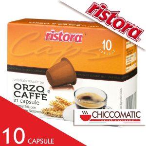Ristora Compatibile Nespresso Caffè Orzo- 10 Cialde