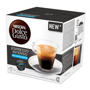 Capsule nescafe dolce gusto espresso intenso decaffeinato - Chiccomatic Shop Online