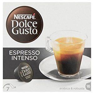 Capsule Nescafe Dolce gusto espresso intenso arabica e robusta - Chiccomatic Shop Online