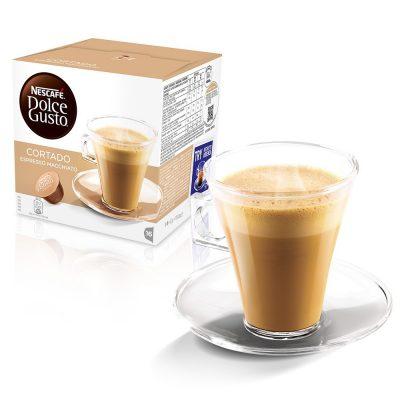 Capsule Nescafe' Dolce Gusto Cortado - Espresso Macchiato - Chiccomatic Shop Online
