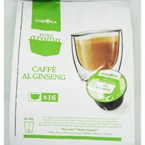 Gimoka caffe capsule compatibili dolce gusto caffe al ginseng 16 cialde - Chiccomatic Shop Online