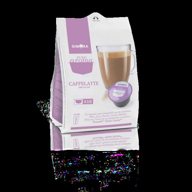 Gimoka capsule compatibili dolce gusto Caffelatte - Chiccomatic shop online