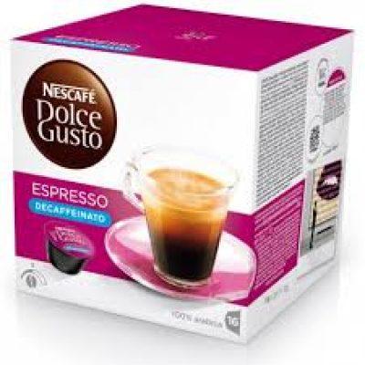 Nescafè capsule dolce gusto espresso decaffeinato - Chiccomatic Shop Online