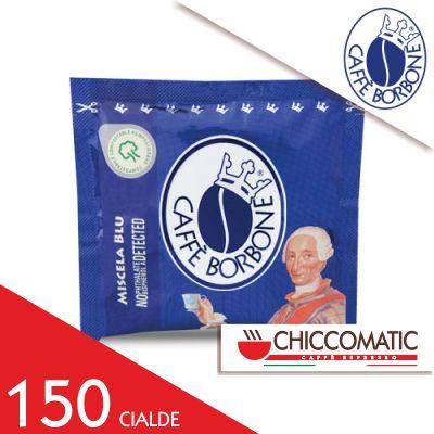 Cialda Blu in Carta ESE Borbone - 150 Cialde