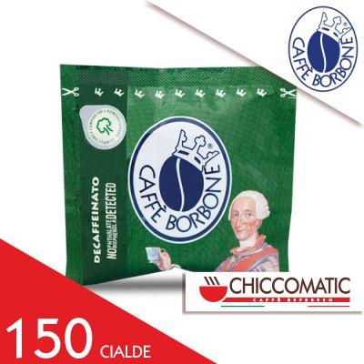 Cialda Verde Dek in Carta ESE Borbone - 150 Cialde