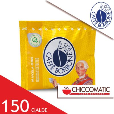 Cialda Oro in Carta ESE Borbone - 150 Cialde